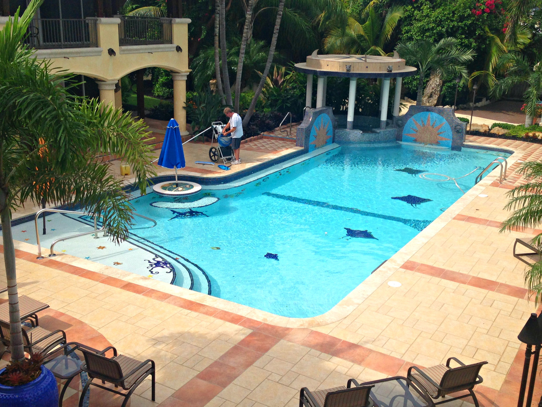 Pool Cleaning Service : Hanf pools islamorada pool cleaning service repair home